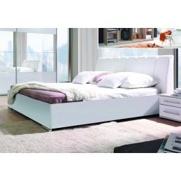 Ensemble Chambre à coucher VERONA : Armoire, Lit avec option coffre 180x200, 2 chevets , matelas à mémoire de forme.