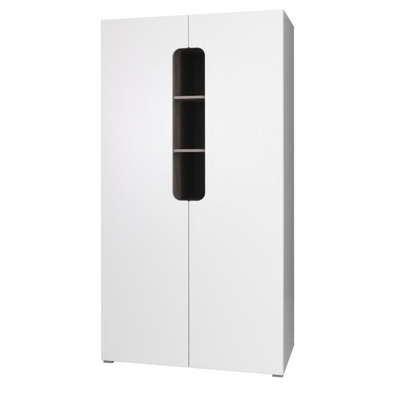 Armoire - penderie deux portes pour chambre enfant/ados de la collection RICCO.