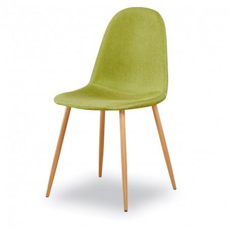 Chaises design (X4) BOYLD coloris vert Pomme pour votre salle à manger.