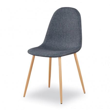 Chaises design (X4) BOYLD coloris Gris pour votre salle à manger.