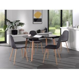 Chaises design BOYLD coloris Gris pour votre salle à manger.