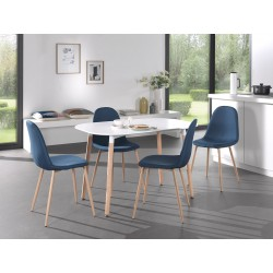 Chaises design BOYLD coloris Bleu pour votre salle à manger.