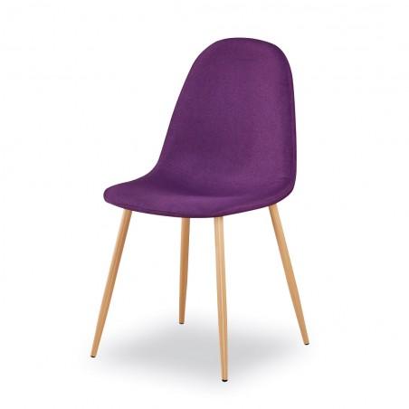 Chaises design (X4) BOYLD coloris Violet pour votre salle à manger.