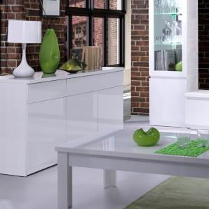 Buffet, bahut, enfilade moyen modèle FABIO 3 portes, 3 tiroirs. Meuble idéal pour votre salon ou salle à manger