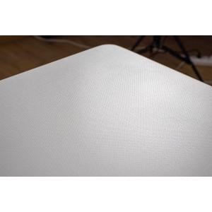 Table 160 x 90 Collection RENNES pieds métal et plateau blanc. Table design.