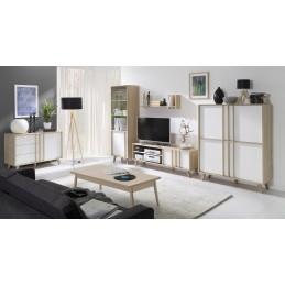 ensemble design pour votre salon malmo biblioth que petit mod le. Black Bedroom Furniture Sets. Home Design Ideas