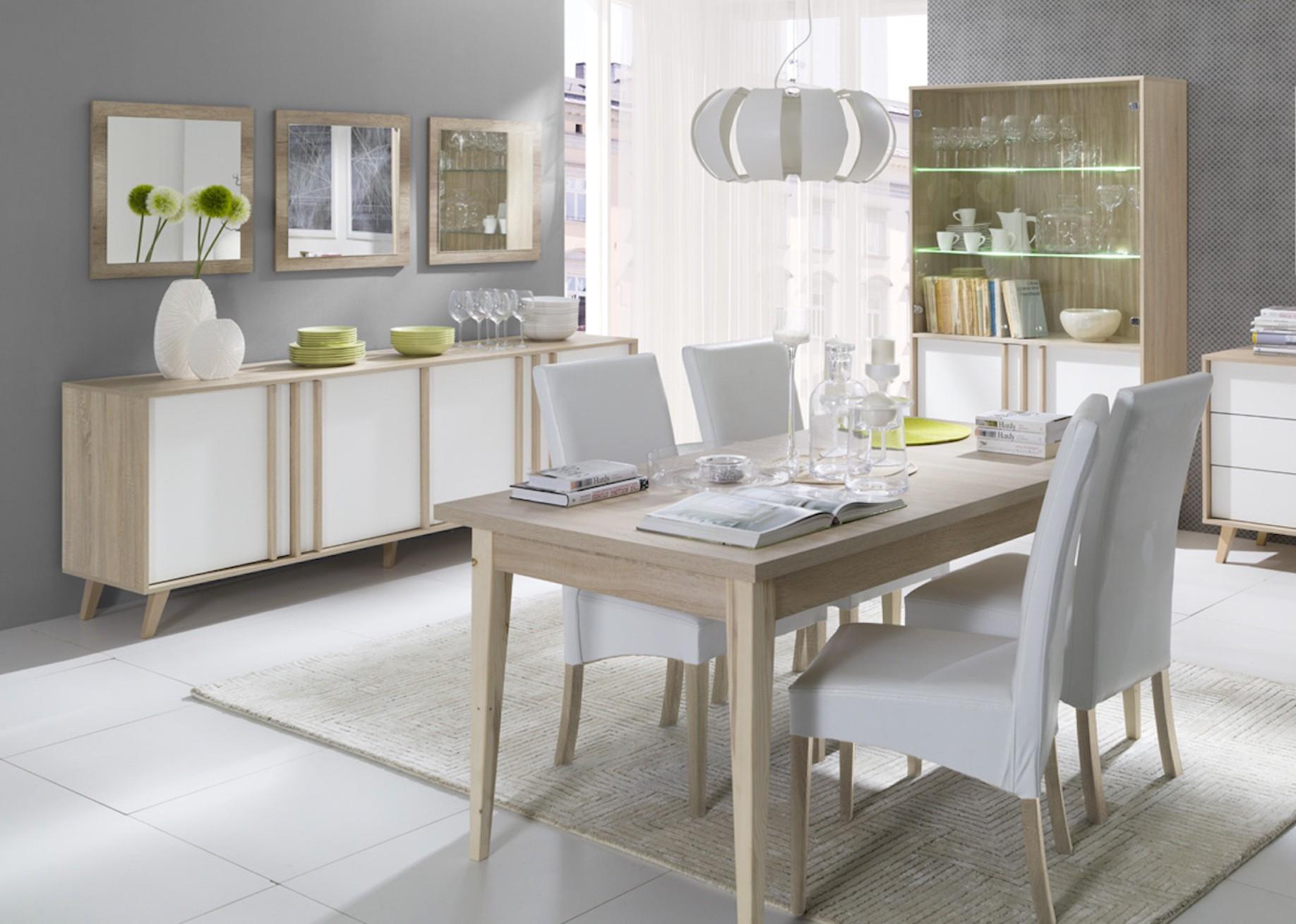 salle manger vitrine vaisselier argentier malmo grand mod le. Black Bedroom Furniture Sets. Home Design Ideas