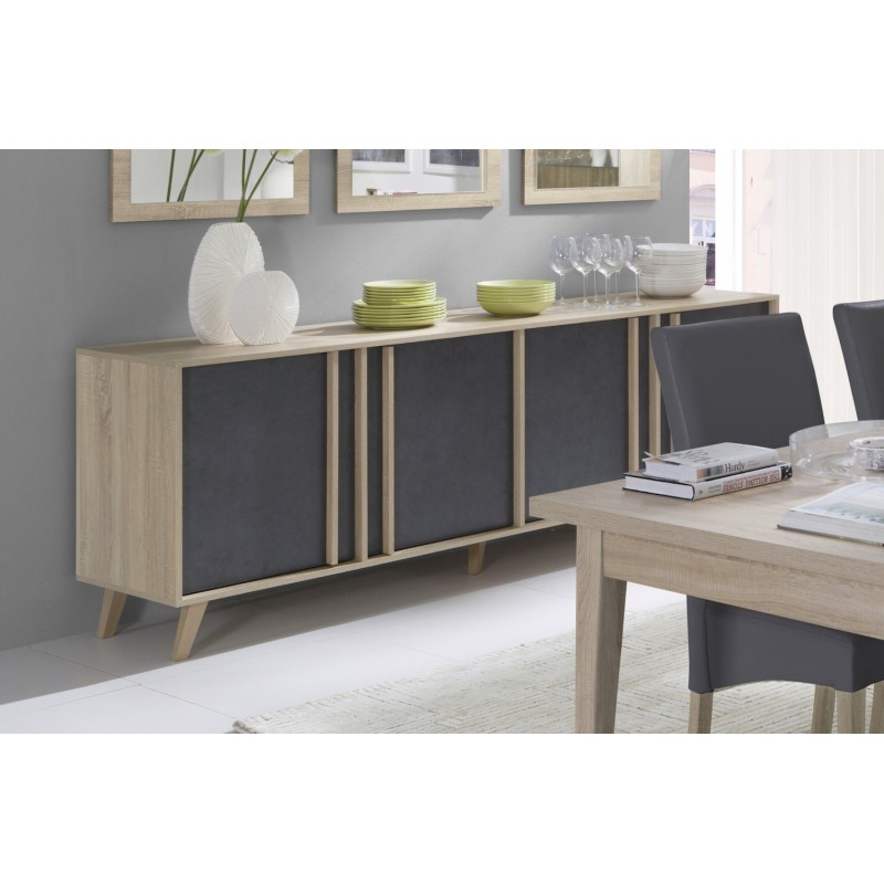 buffet bahut buffet enfilade bahut grand mod le malmo. Black Bedroom Furniture Sets. Home Design Ideas