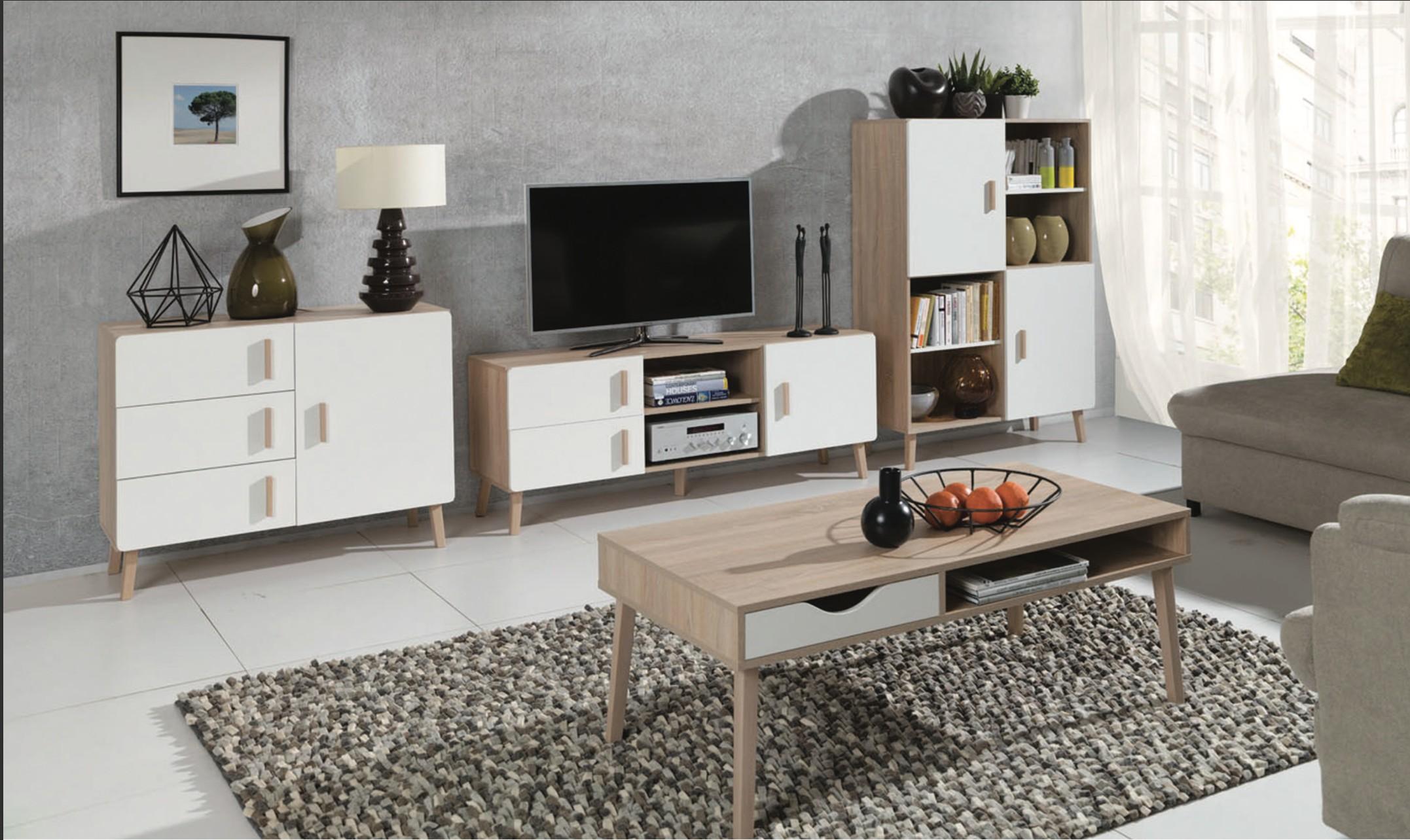 Meuble Tv Avec Bibliothèque price factory