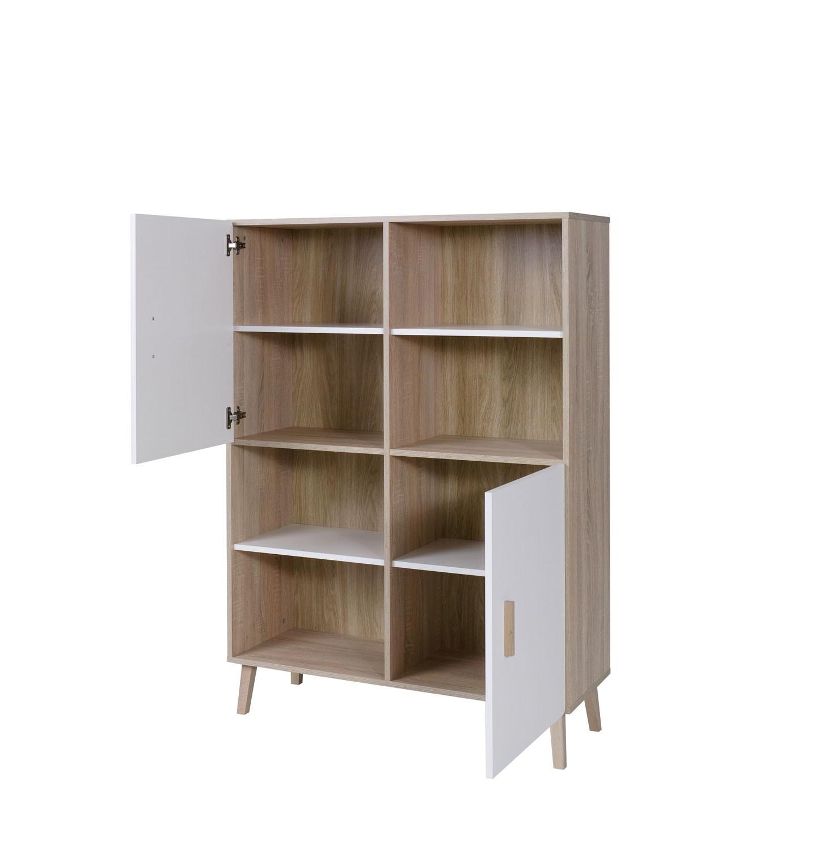 salon ensemble design pour votre salon oslo biblioth que meuble. Black Bedroom Furniture Sets. Home Design Ideas