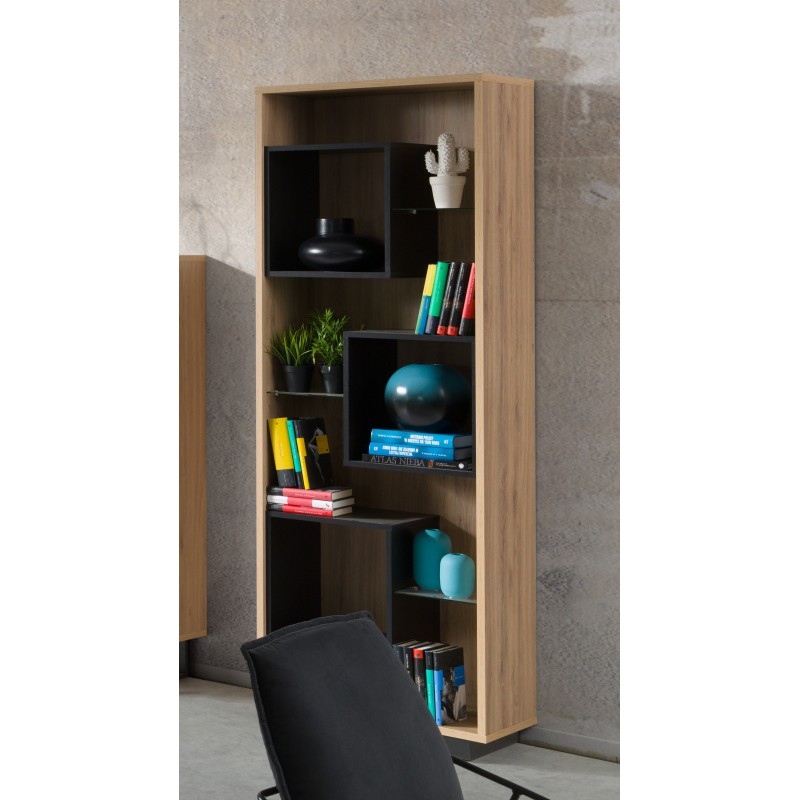 bar vitrine biblioth que solo design id al pour votre salon ou. Black Bedroom Furniture Sets. Home Design Ideas
