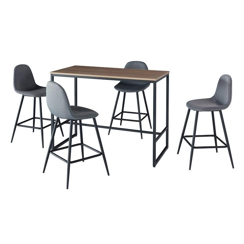 ensemble table et chaises ensemble table haute mange. Black Bedroom Furniture Sets. Home Design Ideas
