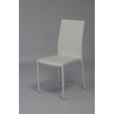Chaise NOAH design. Existe en trois couleurs, noire, blanche et grise. (Lot de 6)