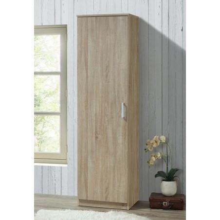Armoire de rangement BURSA, idéal pour votre entrée, votre buanderie ou encore votre salle de bain.