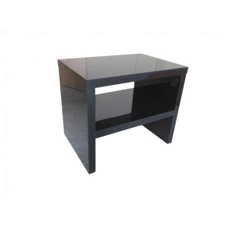 Table de Chevet PERTH design,coloris noir.