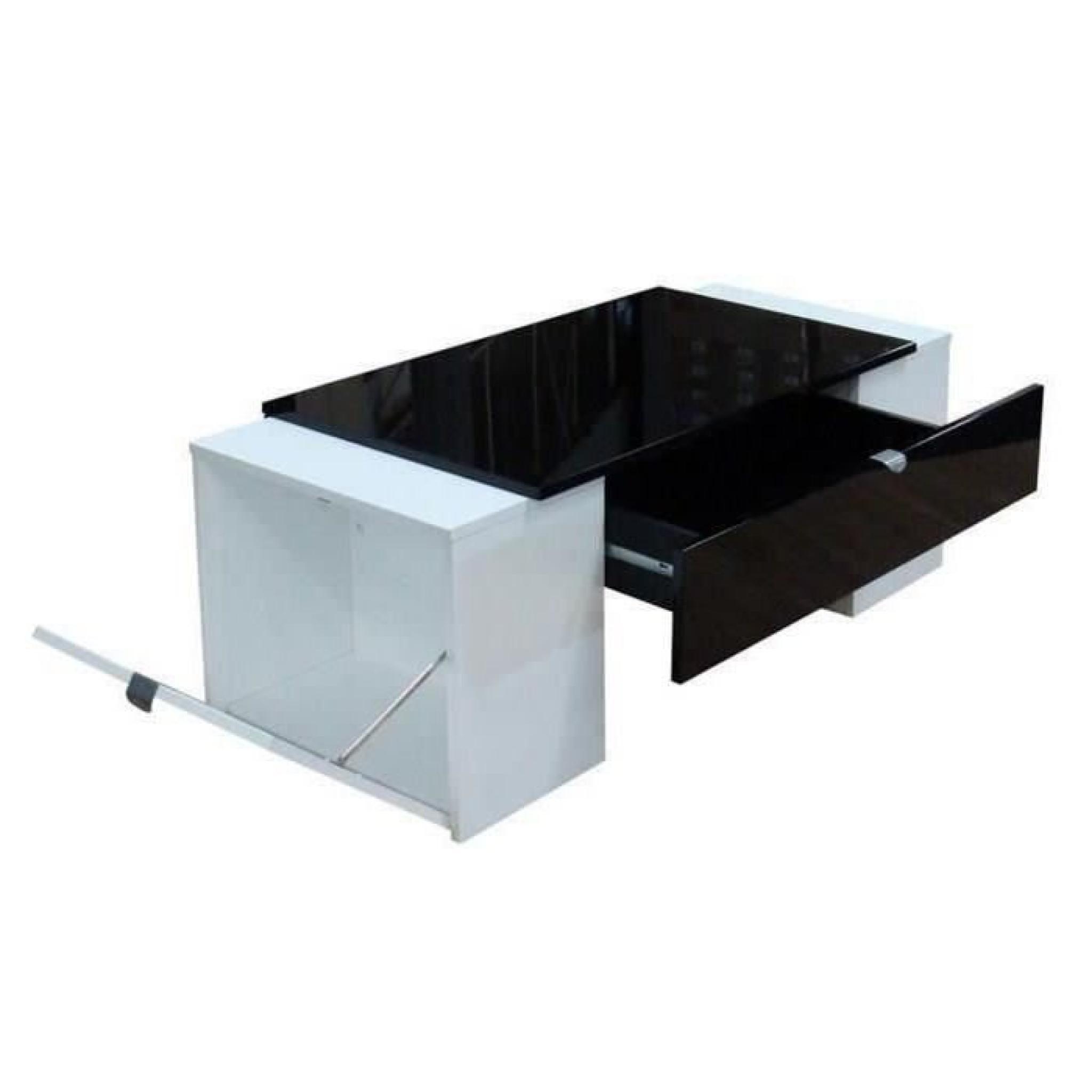 Meuble Tv Hifi Table Basse Luck Ultra Design Et Modulable Table Ba