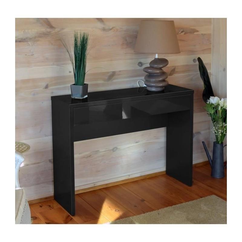 console meuble d 39 entr e console arena coloris noir. Black Bedroom Furniture Sets. Home Design Ideas