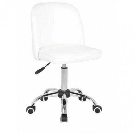 Chaise de bureau Glendive Blanc