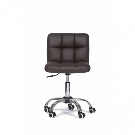 Chaise de bureau ZUNI brun foncé