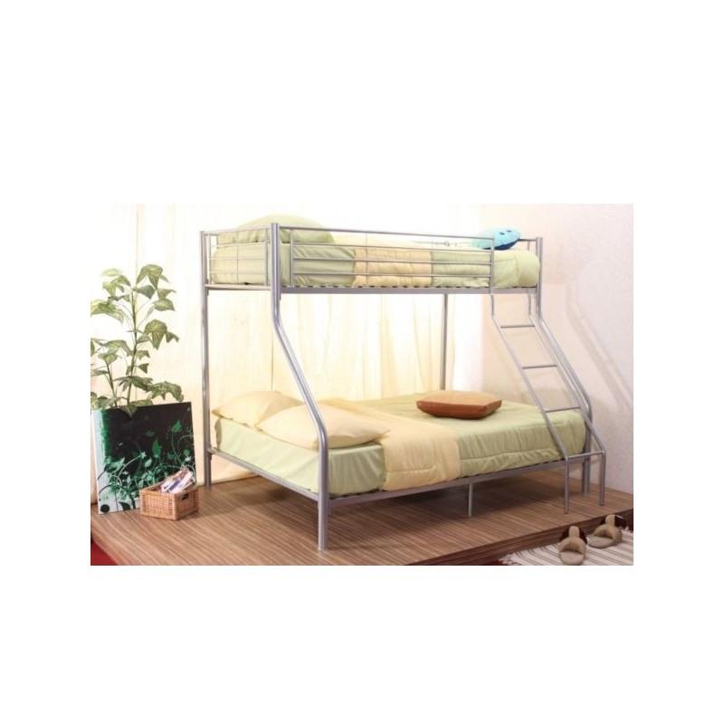 lits superposes lit superpos m tal nicolas 1 2 places. Black Bedroom Furniture Sets. Home Design Ideas