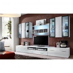 Meuble TV mural Quadro...