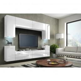 Meuble de salon, meuble TV complet suspendu CONCEPT