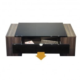 table basse luck design et modulable id al pour votre salon noire. Black Bedroom Furniture Sets. Home Design Ideas