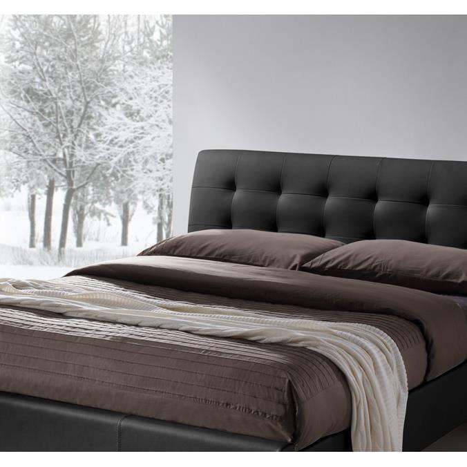 meubles et d corations lit 160x200 deux places design. Black Bedroom Furniture Sets. Home Design Ideas