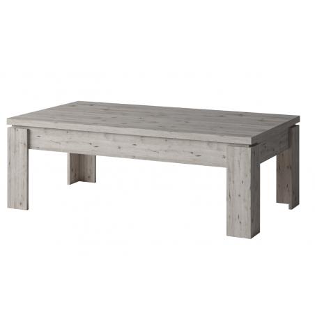 Table basse pour votre salon IRON. Coloris chêne naturel Wellington. Design et tendance
