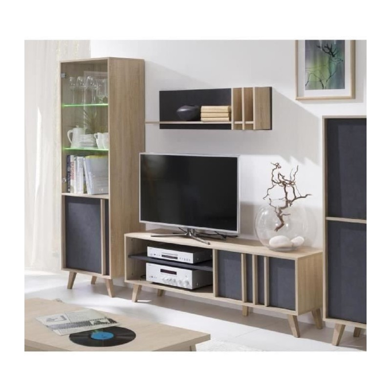 ensemble design pour votre salon malmo biblioth que petit mod le. Black Bedroom Furniture Sets. Home Design Ideas