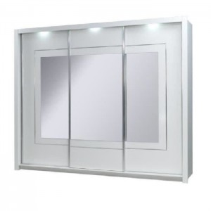 Chambre à coucher complète PANAREA + LED laquée