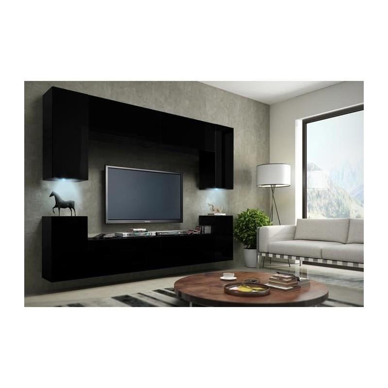 Ensemble complet meuble de salon meuble tv complet suspendu concep - Salon meuble tv ...