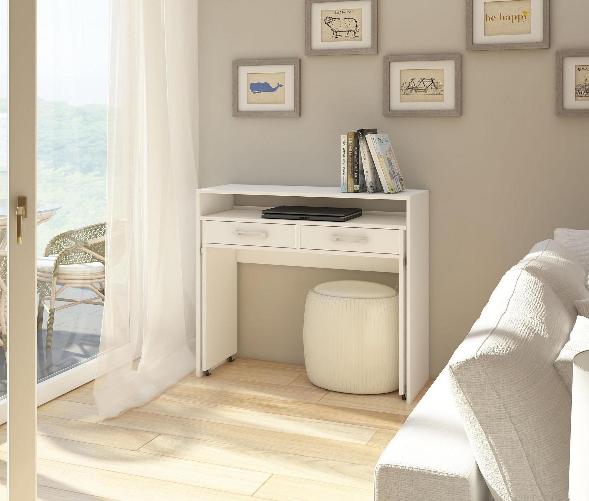 Meubles Et Decorations Bureau Console Extensible Alto Design Pra
