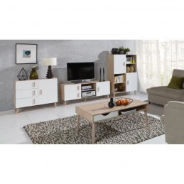 table basse oslo meuble type scandinave 149 00. Black Bedroom Furniture Sets. Home Design Ideas