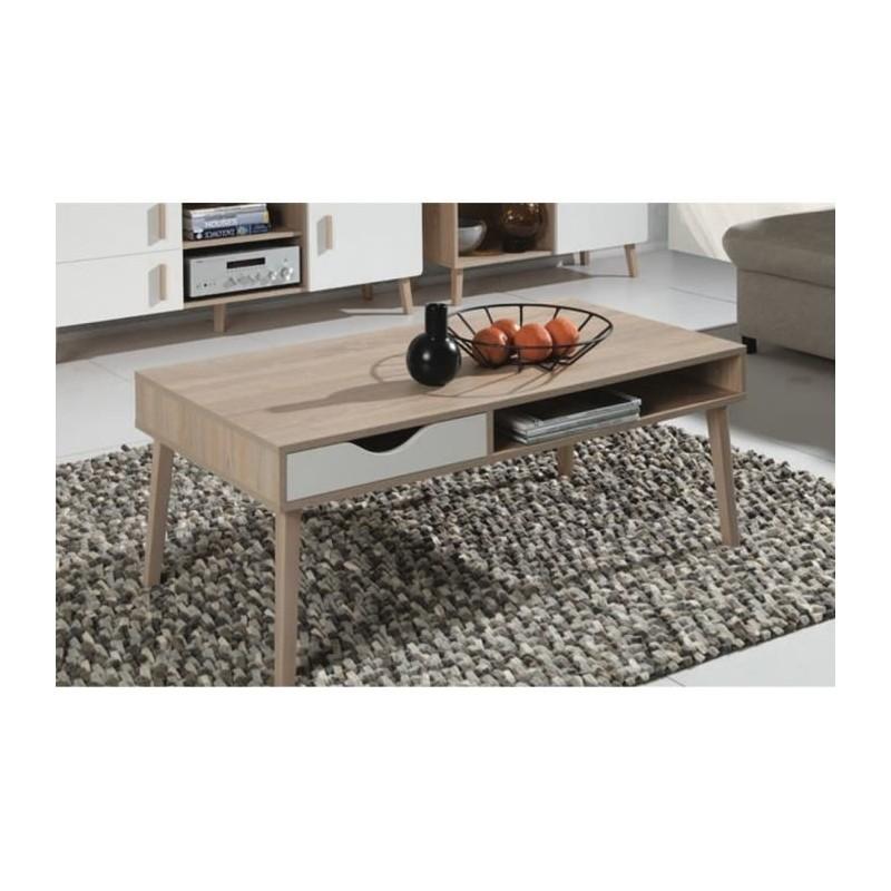 table basse oslo meuble type scandinave 149 00. Black Bedroom Furniture Sets. Home Design Ideas