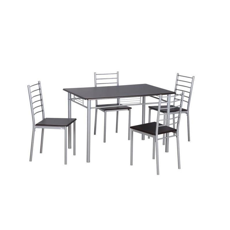 Meubles Et Decorations Table A Manger Avec Chaises 1 Table Et 4