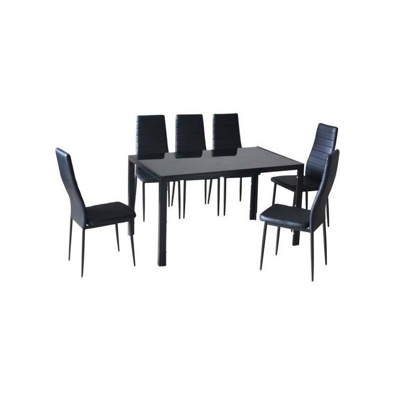 table de cuisine et salle manger 6 chaises lyon 299 00. Black Bedroom Furniture Sets. Home Design Ideas