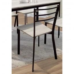 Table de cuisine et salle à manger + 4 chaises LEEDS.