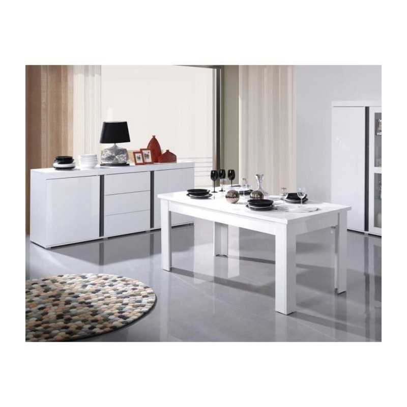 ensemble avignon compos d 39 un buffet bahut 160 cm table extensib. Black Bedroom Furniture Sets. Home Design Ideas