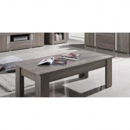 PRICE FACTORY - Table basse AVIGNON coloris sonoma.