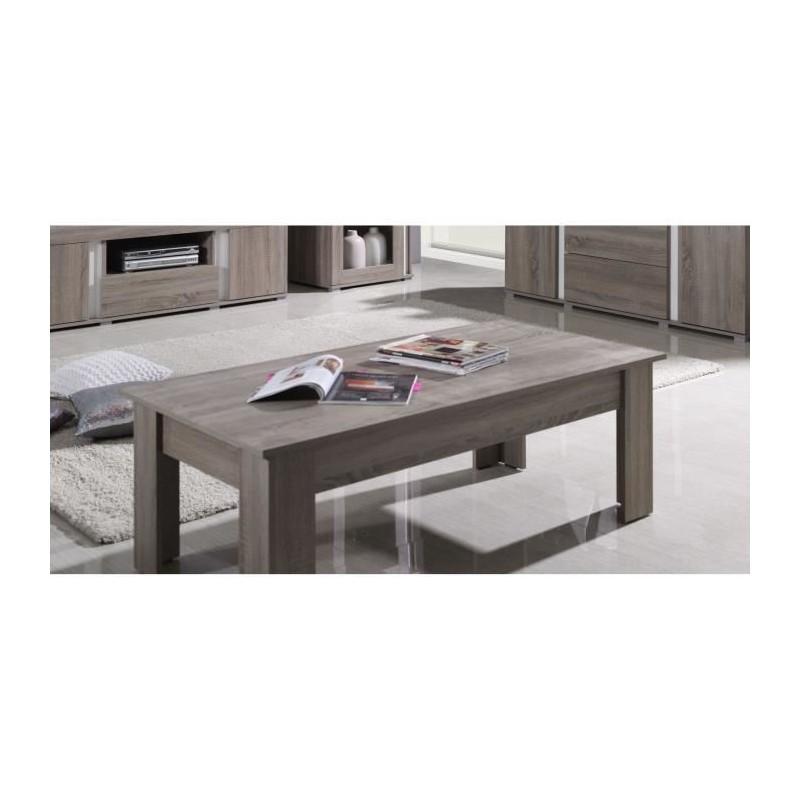 table basse avignon coloris sonoma 99 00. Black Bedroom Furniture Sets. Home Design Ideas