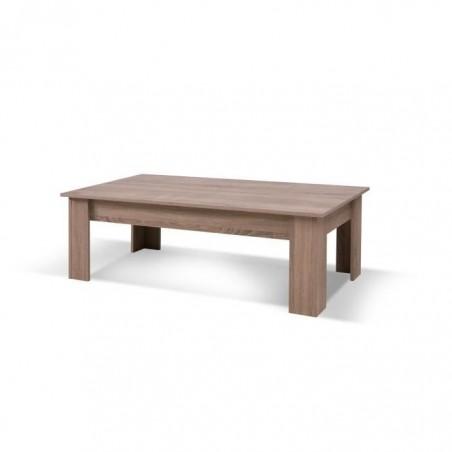 Table basse AVIGNON coloris sonoma. Produit idéal pour meubler votre salon. Style contemporain.