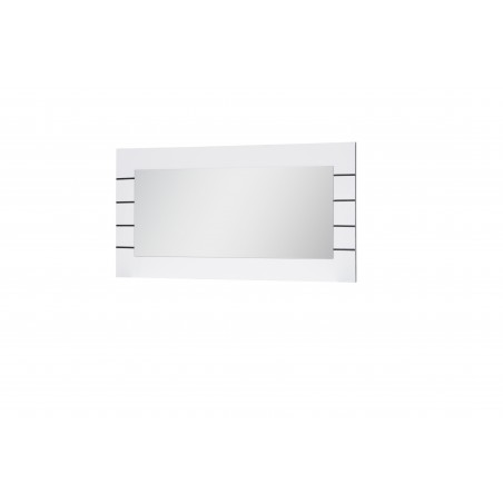 Grand miroir LINN BLANC. Accessoire idéal pour votre salon