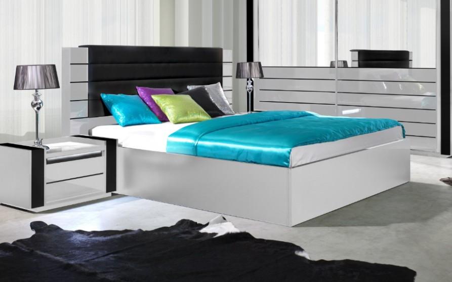 Meubles Et Decorations Chambre A Coucher Complete Lina Blanche Et