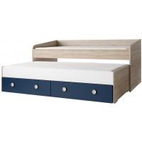 Pratique un lit avec tiroir pour chambre d'enfant